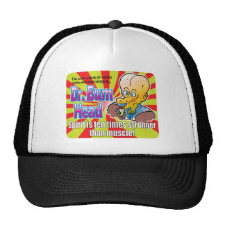 El Dr. Bum Head v2 del alcohol Gorro