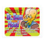 El Dr. Bum Head v2 del trabajo en equipo Tarjeta Postal