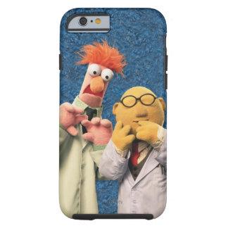 El Dr. Bunsen Honeydew y cubilete Funda De iPhone 6 Tough