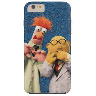 El Dr. Bunsen Honeydew y cubilete Funda De iPhone 6 Plus Tough