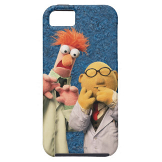 El Dr. Bunsen Honeydew y cubilete iPhone 5 Case-Mate Protectores