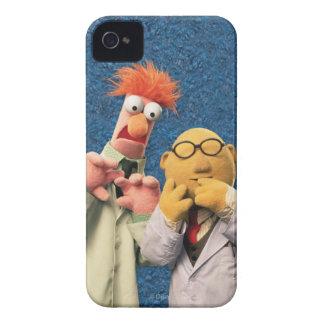 El Dr. Bunsen Honeydew y cubilete iPhone 4 Case-Mate Coberturas