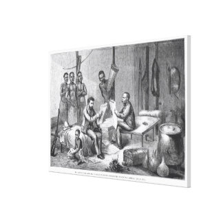 El Dr David Livingstone 1813-73 y Sr Henry Mor Impresiones De Lienzo