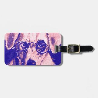 El Dr. Dog Etiquetas Para Maletas
