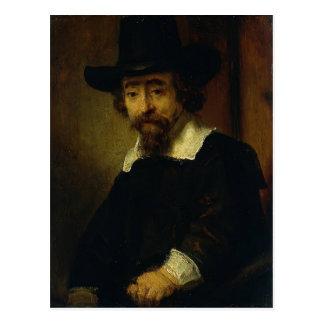 El Dr. Ephraim Bueno, médico y escritor de Rembran Tarjeta Postal