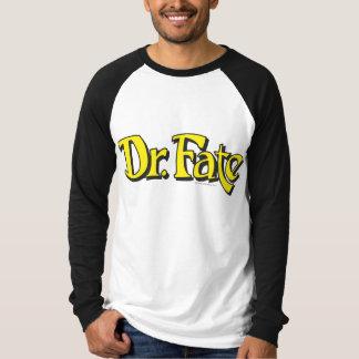 El Dr. Fate Logo Playera