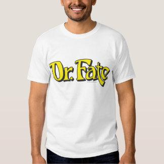 El Dr. Fate Logo Poleras