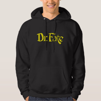 El Dr. Fate Logo Suéter Con Capucha