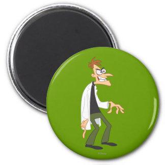 El Dr. Heinz Doofenshmirtz 2 Imán Redondo 5 Cm