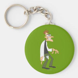 El Dr. Heinz Doofenshmirtz 2 Llavero Redondo Tipo Pin