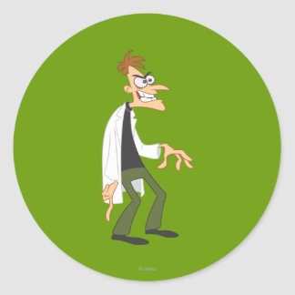 El Dr. Heinz Doofenshmirtz 2 Pegatinas