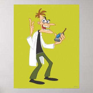 El Dr. Heinz Doofenshmirtz 3 Póster