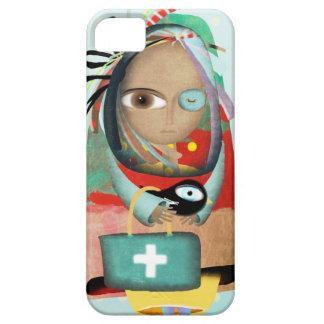 El Dr. Iphone Case del hospital de la enfermera iPhone 5 Case-Mate Carcasas