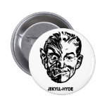 El Dr. Jekyll del monstruo del vintage del kitsch  Pins