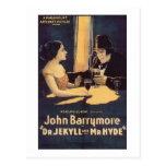 El Dr. Jekyll y Sr. Hyde Tarjetas Postales