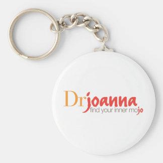 El Dr. Juana Logo Llavero Redondo Tipo Pin