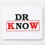 El Dr. Know Alfombrillas De Ratones
