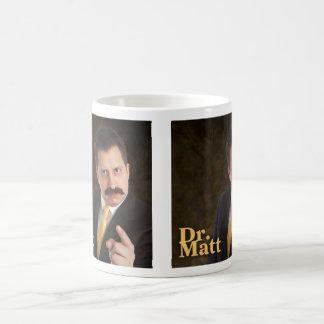 El Dr. Matt Doble-Toma Mug Taza De Café