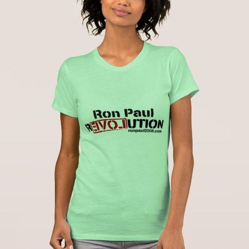 El Dr. Ninguna camisa cómica de Ron Paul