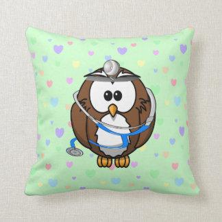 el Dr. Owl de la paginación Cojín