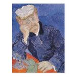 El Dr. Paul Gachet, 1890 de Vincent van Gogh el | Tarjetas Postales