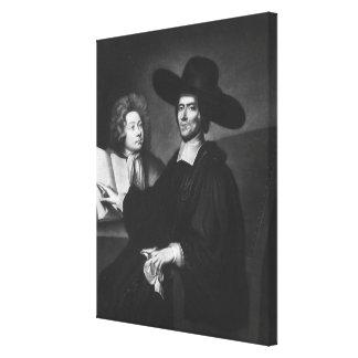 El Dr Richard Busby grabada por James Masson Lienzo Envuelto Para Galerias