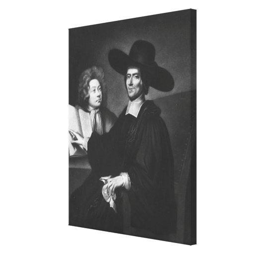 El Dr. Richard Busby grabada por James Masson Lienzo Envuelto Para Galerias