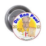 El Dr. Ron Paul Pin Redondo 5 Cm