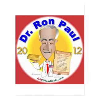 El Dr. Ron Paul Tarjetas Postales