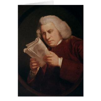 El Dr. Samuel Johnson 1775 Felicitacion