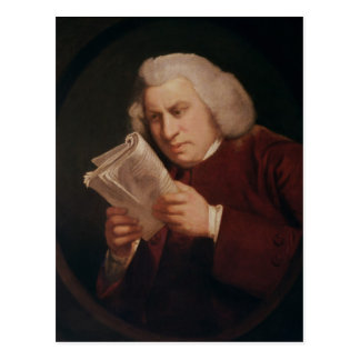 El Dr. Samuel Johnson 1775 Tarjetas Postales