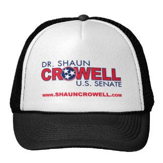 El Dr. Shaun Crowell para el senado de los E.E.U.U Gorro