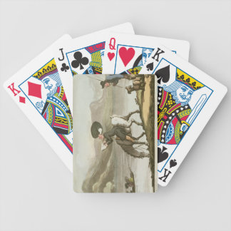 El Dr Syntax que bosqueja el lago Baraja Cartas De Poker