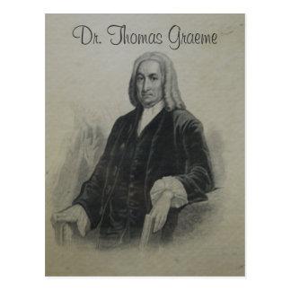 El Dr. Thomas Graeme II Tarjetas Postales