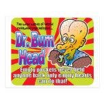 El Dr. vacío Bum Head v2 Postales