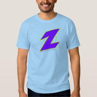 El Dr. Zappo Adult Tee Light-blue Remera