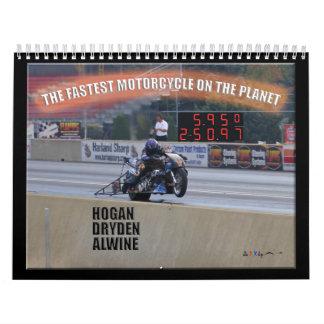 El Dragbike más rápido en el planeta II Calendario
