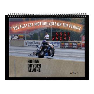 El Dragbike más rápido en el planeta… Patrocinador Calendarios