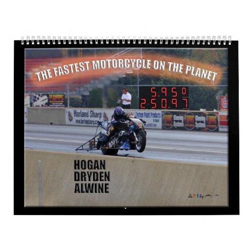 El Dragbike más rápido en el planeta… Patrocinador Calendarios De Pared