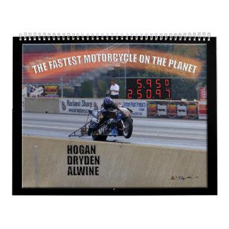 El Dragbike más rápido en el planeta… Patrocinador Calendario