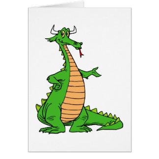 el dragón amistoso distribuye .png tarjeta pequeña