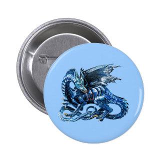 El dragón azul - pins