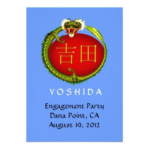 El dragón de Yoshida invita