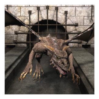 El dragón del callejón sin salida está buscando un cojinete