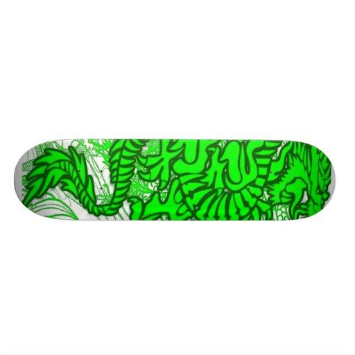 El dragón del jade patineta personalizada