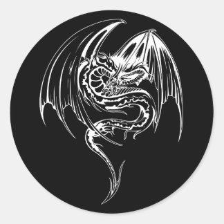 El dragón del Wyvern es criaturas míticas de la Etiqueta Redonda