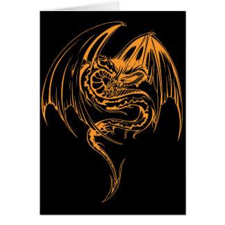 El dragón del Wyvern es criaturas míticas de la Tarjeta De Felicitación