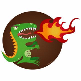 El dragón embroma arte de poco t y M.E. Volmar Escultura Fotográfica