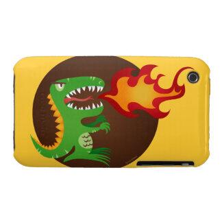 El dragón embroma arte de poco t y M.E. Volmar iPhone 3 Cobreturas