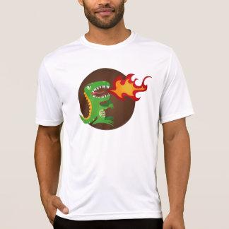 El dragón embroma arte de poco t y M.E. Volmar Camiseta